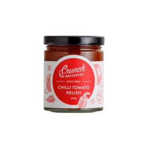 Chilli Tomato Relish by Crunch Preserves | Yallingup Gugelhupf Bakery #tomatorelish #yallingupbakery #chillirelish