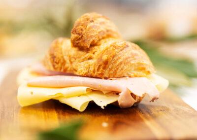 Ham & Cheese Croissant - Yallingup Bakery Gugelhupf - Yallingup Woodfired Bread #yallingupbakery #yallingupwoodfiredbread #yallingupbread