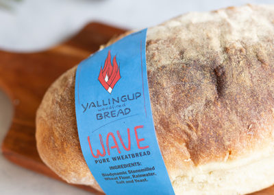 Wave Pure Wheatbread - Yallingup Woodfired Bread - Margaret River