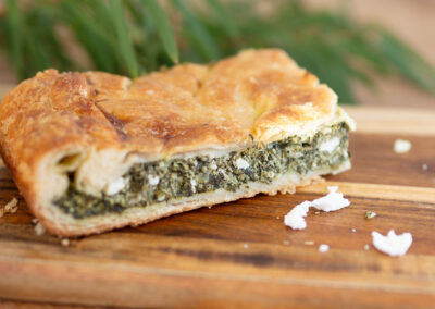 Spinach Pie Yallingup Gugelhupf Bakery Yallingup Woodfired Bread Margaret River. Spinach & Feta Pie with homemade puff pastry Yallingup Bakery #yallingupbakery #yallingupwoodfiredbread #spinachpie